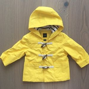 Gap Yellow raincoat